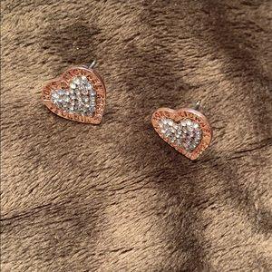 ⚠️New Inventory⚠️ Michael Kors Heart Earrings